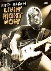 Livin' Right Now DVD