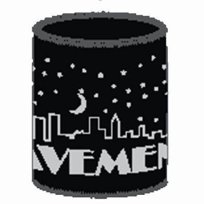 Nightfall Black Stubby Holder