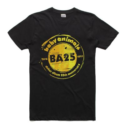Stamp Black Tshirt