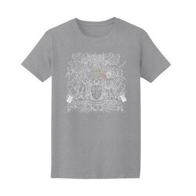 SPECIAL EDITION MARGARET COURT GREY MARLE T-SHIRT