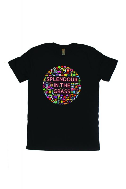 Icons Event Black Tshirt Splendour In The Grass Offical