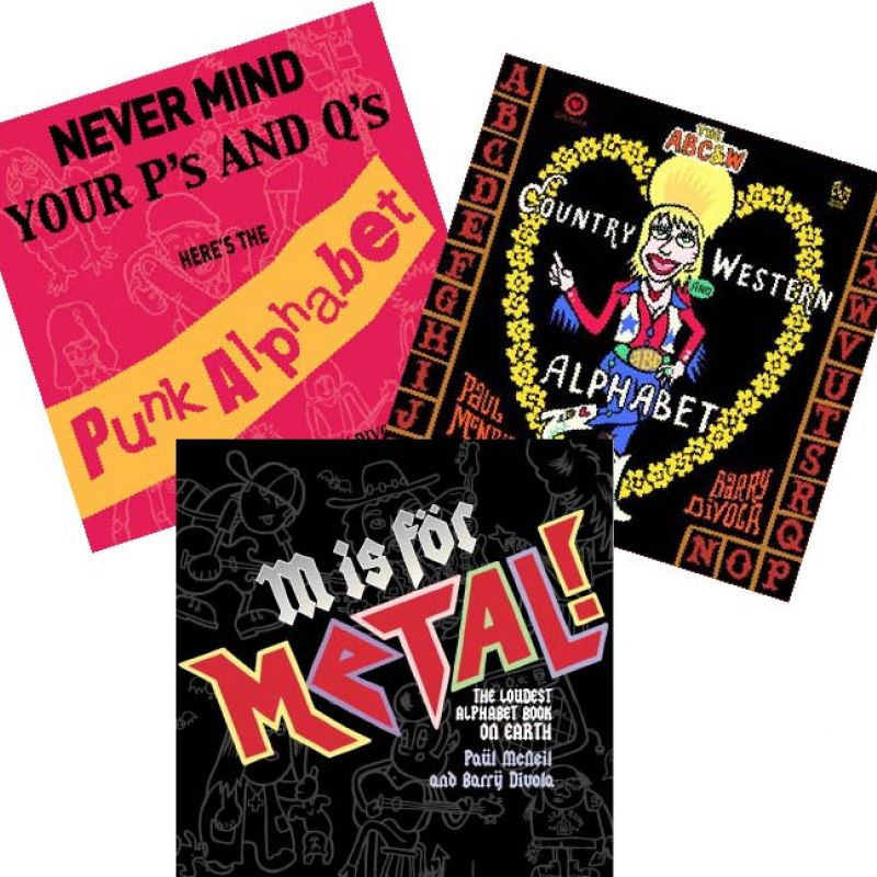 Rockin' Alphabets bundle – Set of 3 books