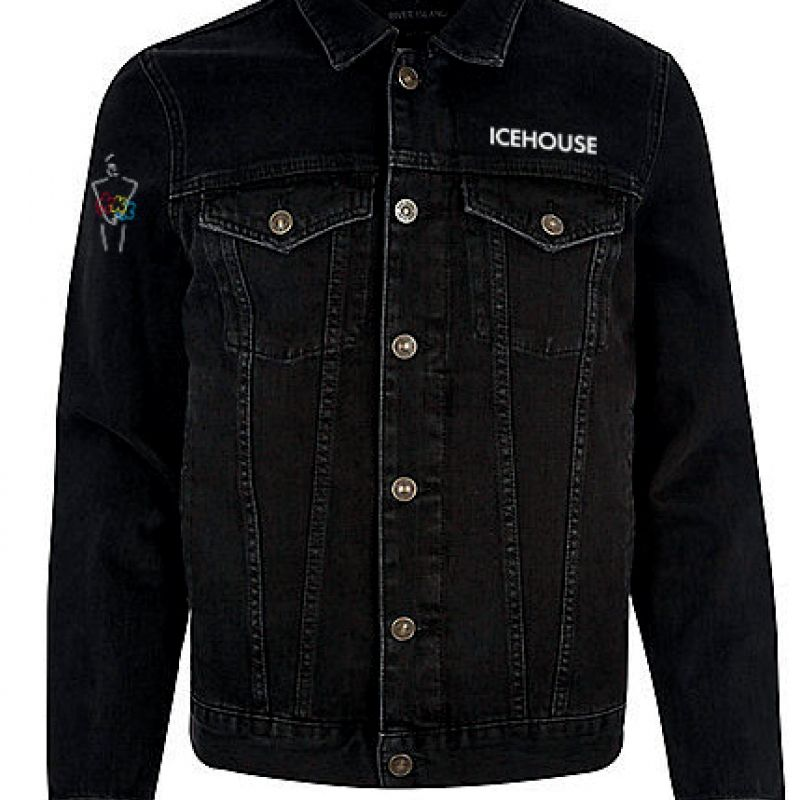 Denim Jacket Black 40 Years Live