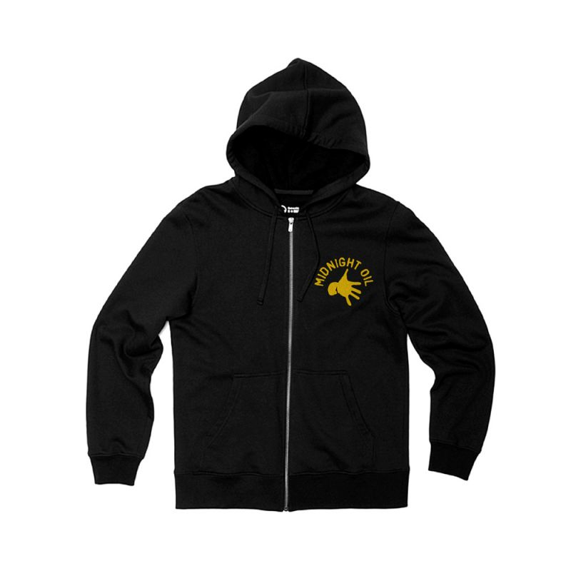 Pocket Hand Black Zip Hoody The Great Circle 2017 Tour