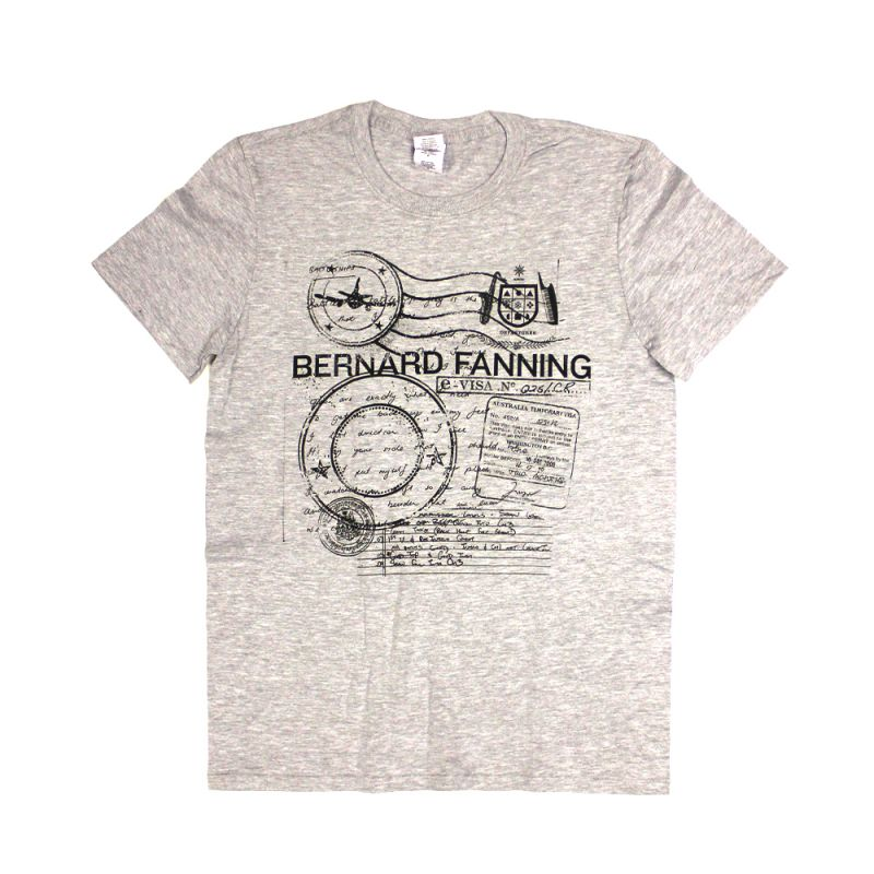 Passport Grey Mens Tshirt