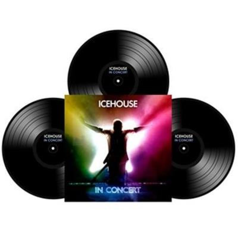 Icehouse In Concert 3LP Vinyl