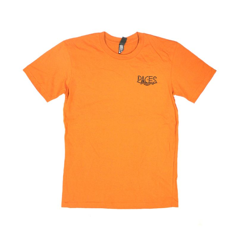 Pacey Peeps Orange Mens Tshirt