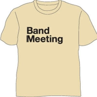 Band Meeting Tan Tee