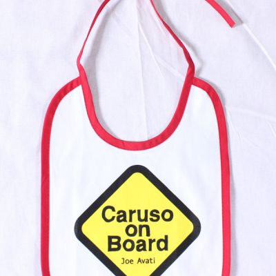 Baby Bib (Caruso on Board)