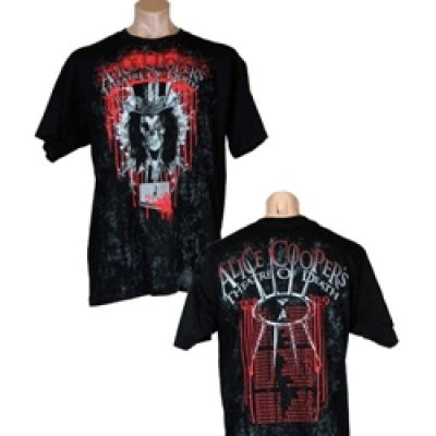 Black Bleeding Logo Tshirt