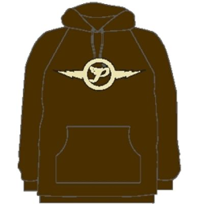 Lightening Brown Hoody