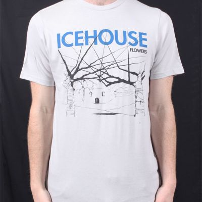 Flowers Ice Grey Tshirt