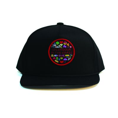 Icon Patch Black Snapback