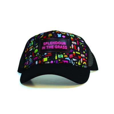 Icons Black Trucker Cap