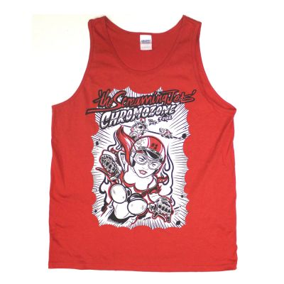 Chrome-O-Zone Tour Red Tank Top