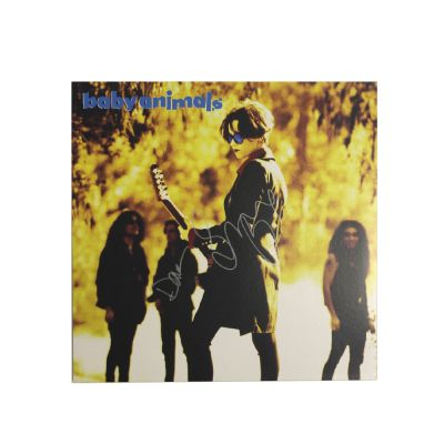 Baby Animals Self Titled LP (Reissue) Limited Signed Copies