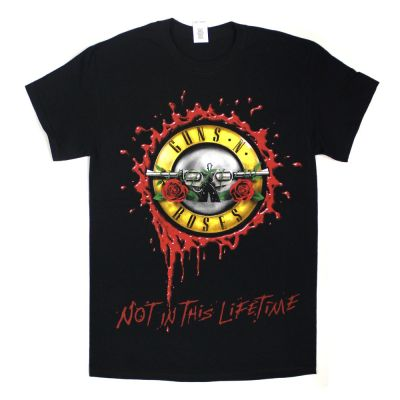 Bullet Seal Not In This Lifetime Black Tour Tshirt