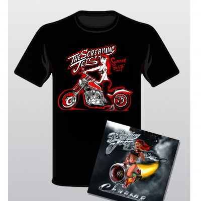 Summer Cd/t-shirt pack (Limited Edition)