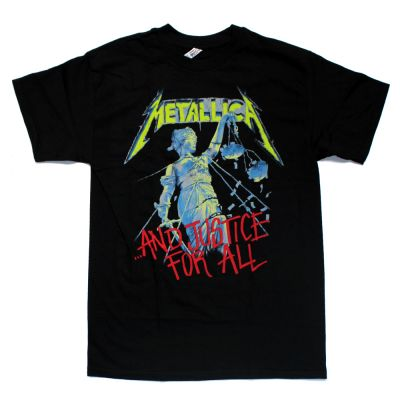 Justice For All Black Tshirt