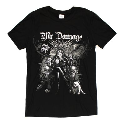 Mr Damage Black Tshirt