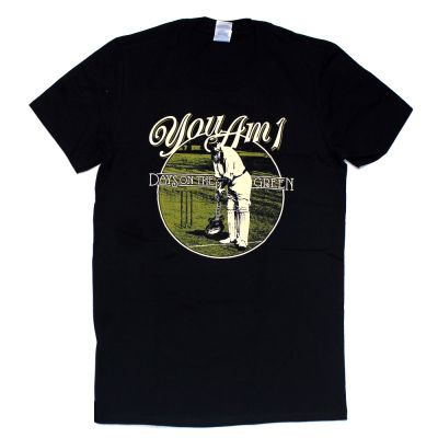 Days On The Green Black Tshirt