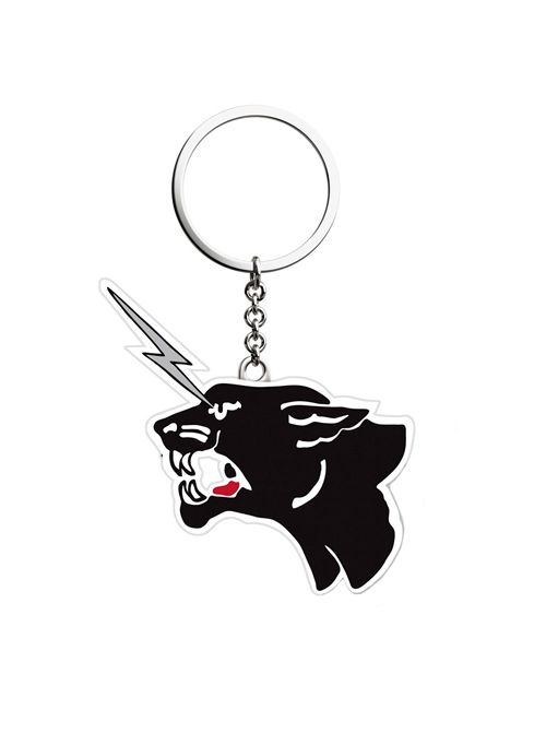 The Cult's Electric Panther Keychain  by The Cult