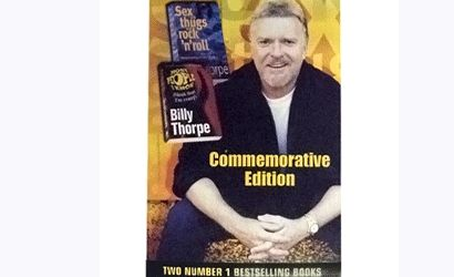 Double Commemorative Edition Book by Billy Thorpe