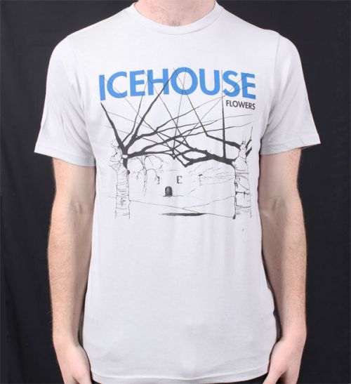 Flowers Ice Grey Tshirt by Icehouse