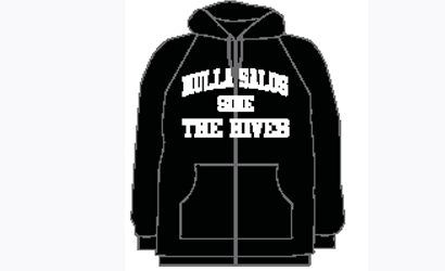Nulla Black Zip up hoody Australian Tour 2011 by The Hives