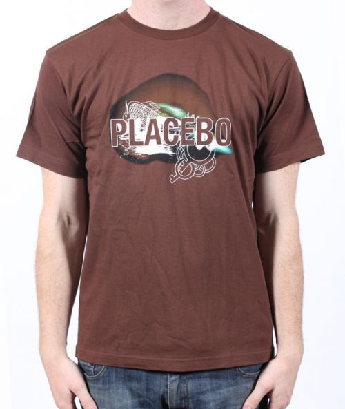 Placebo Space Brown Tshirt by Placebo
