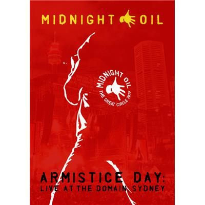 Armistice Day: Live At The Domain, Sydney (DVD) by Midnight Oil