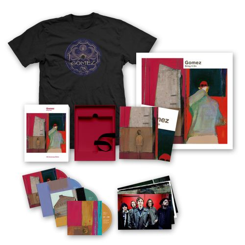 Bring It On: 20th Anniversary 4CD Set + Ltd Edition Print (Signed) + T-Shirt by Gomez