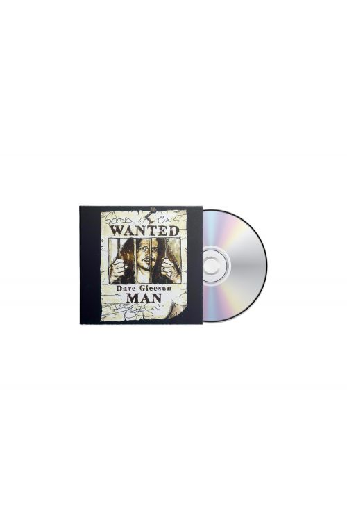 Wanted Man CD - Dave Gleeson (Signed Copies) by The Screaming Jets