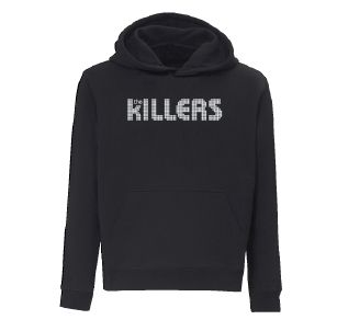 Logo Black Hoodie by The Killers