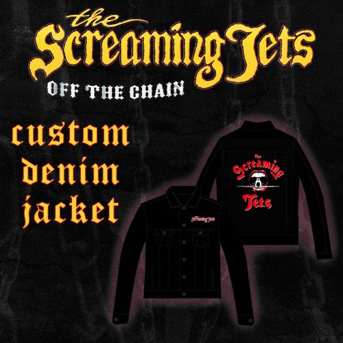 Denim Jacket Embroidered (Limited) by The Screaming Jets