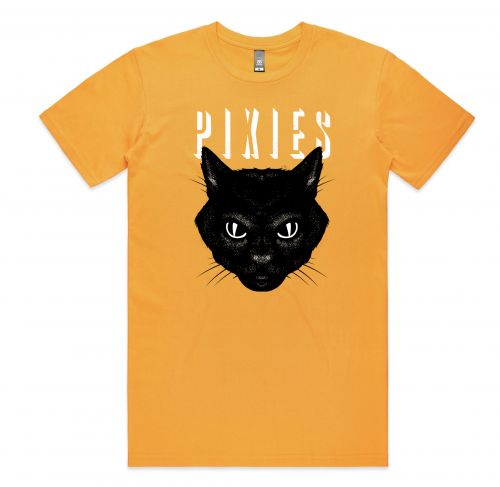 Cat Gold Unisex Tshirt by The Pixies