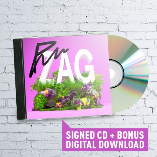 Signed Paces 'ZAG' CD by Paces