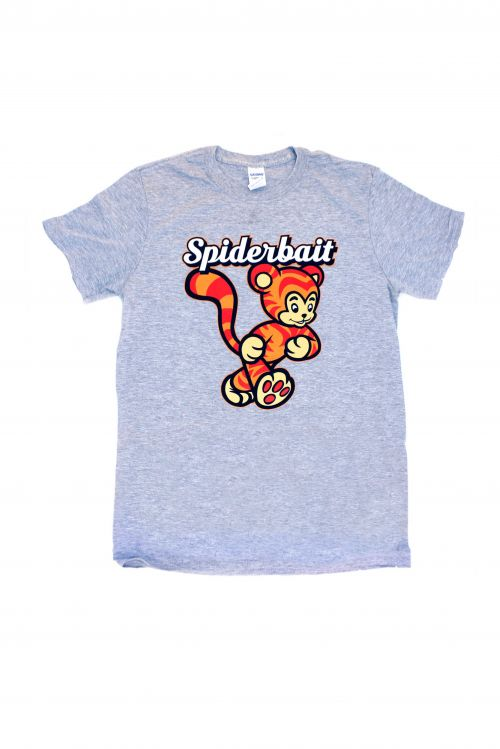 Grey Tiger Tshirt by Spiderbait