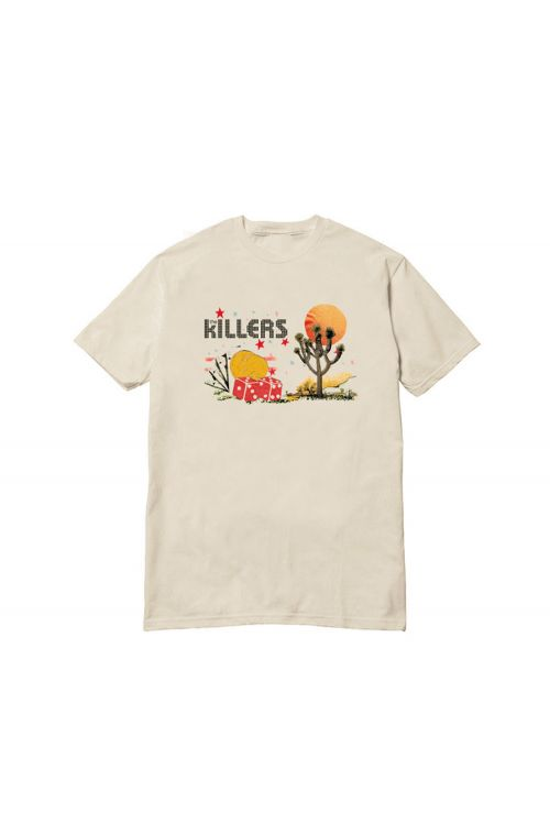 Joshua Tree Desert Natural Tshirt by The Killers
