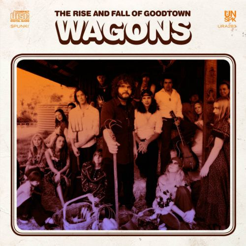 The Rise and Fall Of Goodtwon (LP) Vinyl by Wagons
