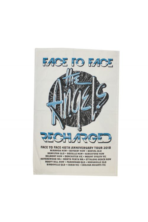 Face To Face Recharged Tour Tea Towel by The Angels
