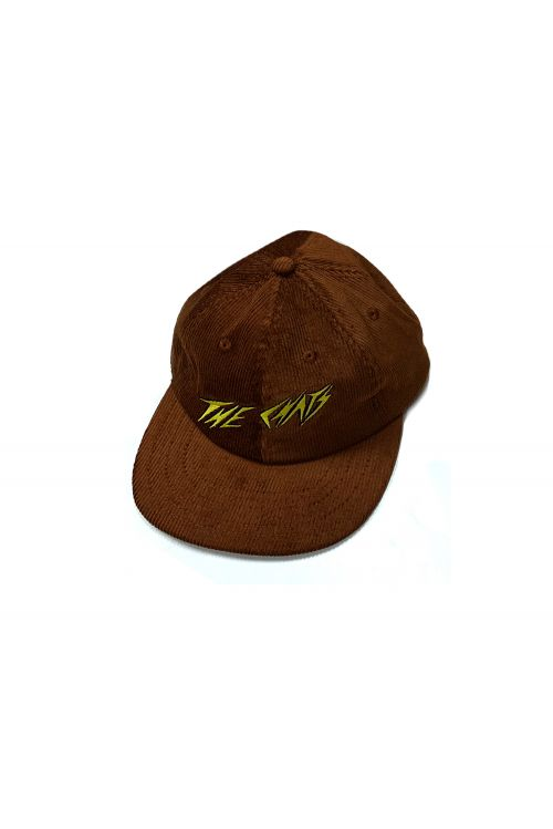 Chats Yellow Logo Brown Cordoroy Hat by The Chats