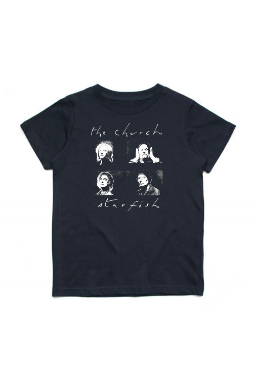 Starfish Black Kids Tshirt by The Church