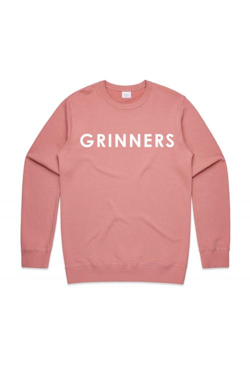 DR. GRINNERS LOGO UNISEX ROSE SWEATSHIRT by Grinspoon