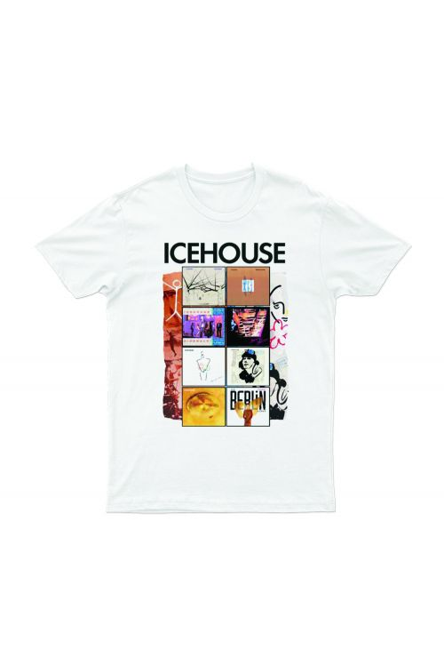 Albums White Tshirt by Icehouse