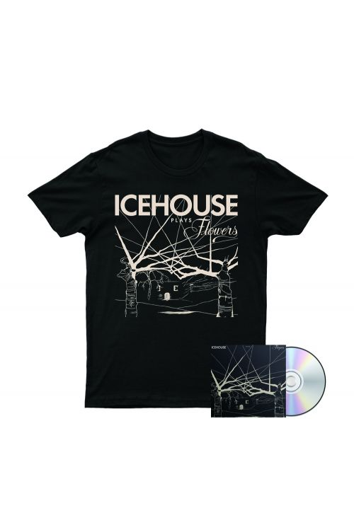 Icehouse Plays Flowers Tshirt/CD by Icehouse