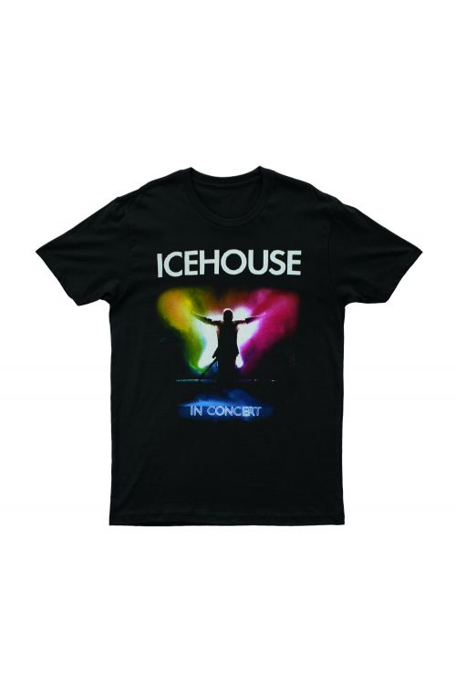 In Concert Black Tshirt (2nd Tour) extended dates by Icehouse