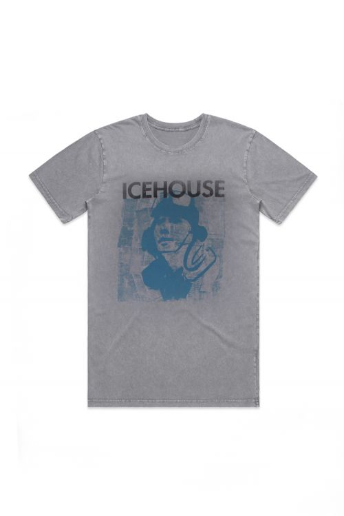 Code Blue Stonewash Grey Tshirt by Icehouse