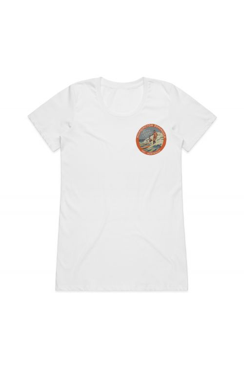 Mornington White Ladies Tshirt by James Reyne