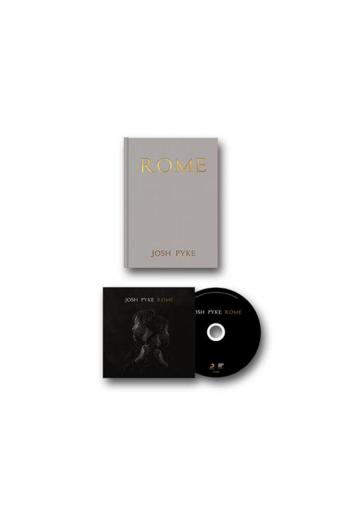 ROME - CD AND A5 HARDCOVER BOOK by Josh Pyke